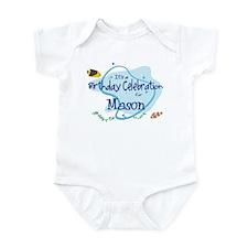 Celebration for Mason (fish) Infant Bodysuit