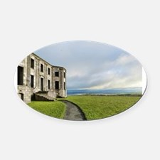 Northern Ireland photo Oval Car Magnet
