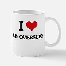 I Love My Overseer Mugs