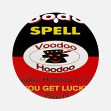 Lucky Voodoo Day Ornament (Round)