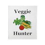 Veggie Hunter Throw Blanket