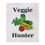 Veggie Hunter Throw Blanket