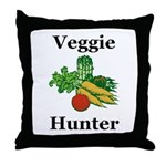 Veggie Hunter Throw Pillow