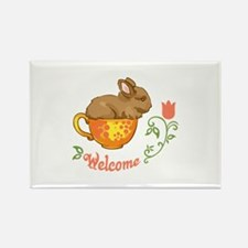 TEACUP WELCOME Magnets