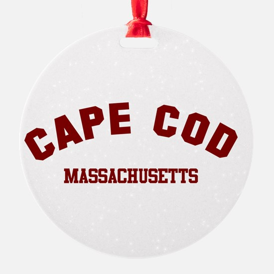 Cape Cod Round Ornament