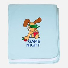 GAME NIGHT baby blanket