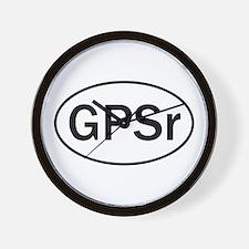 """GPSr"" Wall Clock"