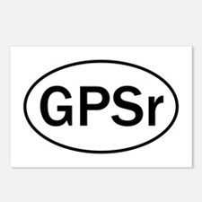 """GPSr"" Postcards (Package of 8)"