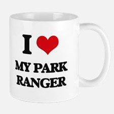 I Love My Park Ranger Mugs