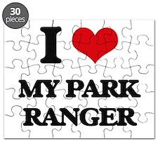 I Love My Park Ranger Puzzle