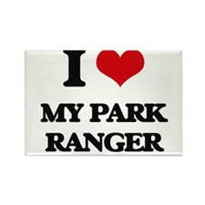 I Love My Park Ranger Magnets