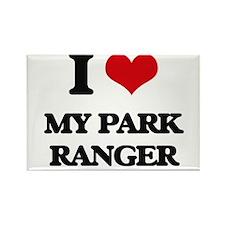 I Love My Park Ranger Magnets