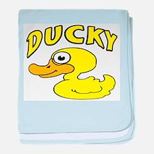 Ducky baby blanket
