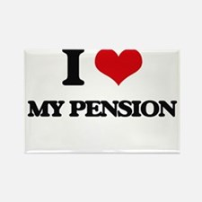 I Love My Pension Magnets