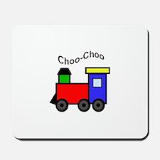 CHOO CHOO APPLIQUE Mousepad
