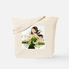 Fashion girl graphic Tote Bag