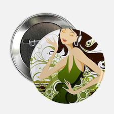 Fashion girl graphic Button