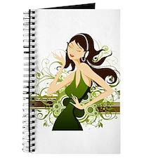Fashion girl illustration Journal
