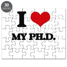 I Love My Ph.D. Puzzle