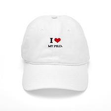 I Love My Ph.D. Baseball Cap