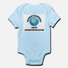 World's Happiest Arts Administrator Body Suit