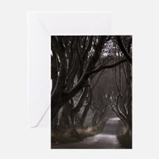 The Dark Hedges Greeting Cards