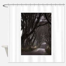The Dark Hedges Shower Curtain