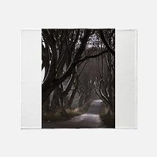 The Dark Hedges Throw Blanket