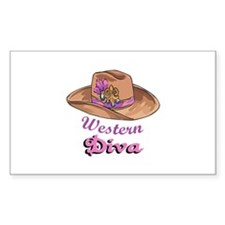 WESTERN DIVA Decal