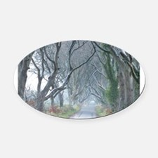 Game thrones Oval Car Magnet