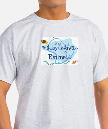 Celebration for Emmett (fish) T-Shirt