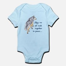 WALK TOGETHER IN PEACE Body Suit