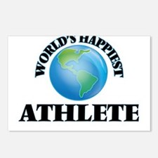 World's Happiest Athlete Postcards (Package of 8)