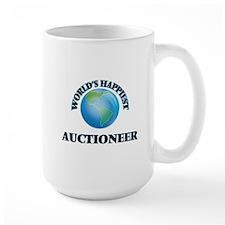 World's Happiest Auctioneer Mugs