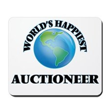 World's Happiest Auctioneer Mousepad