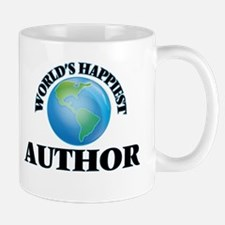 World's Happiest Author Mugs