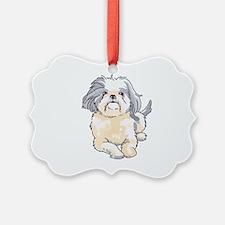 SHIH TZU PUP Ornament