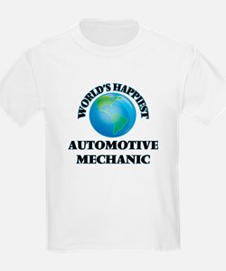 World's Happiest Automotive Mechanic T-Shirt