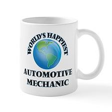 World's Happiest Automotive Mechanic Mugs
