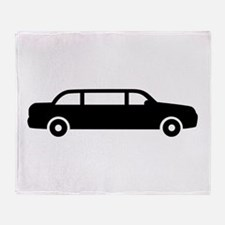 Limousine car Throw Blanket