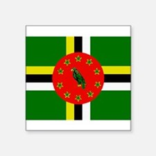 The Commonwealth of Dominica flag Sticker