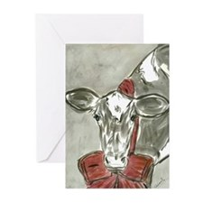 Cute Holstein Greeting Cards (Pk of 20)
