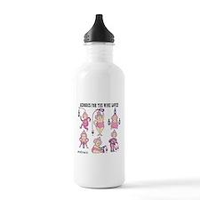 Wine Aerobics Water Bottle