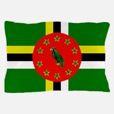 The Commonwealth of Dominica flag Pillow Case