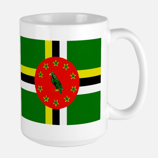 The Commonwealth Of Dominica Flag Mugs