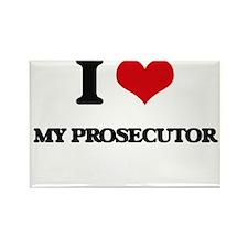 I Love My Prosecutor Magnets