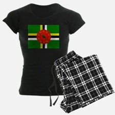 The Commonwealth of Dominica flag Pajamas