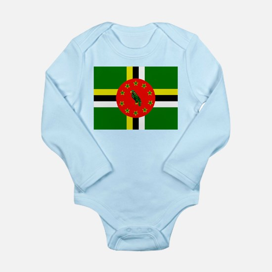 The Commonwealth of Dominica flag Body Suit