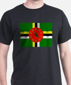 The Commonwealth of Dominica flag T-Shirt
