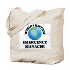 World's Happiest Emergency Manager Tote Bag